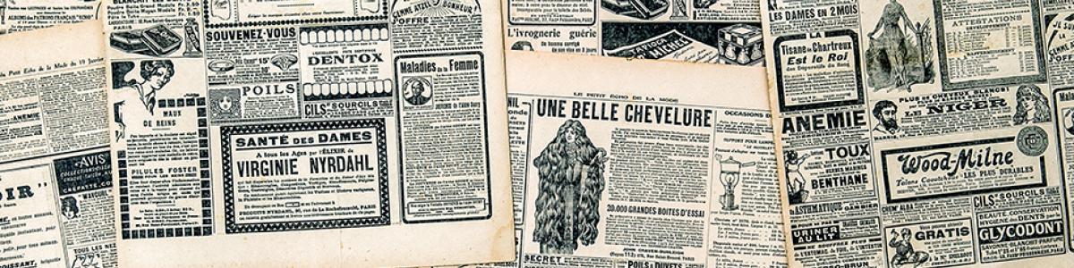 Aviser på mikrofilm