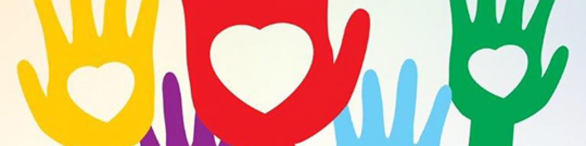 logo for trivsel og frivillighed i randers kommune