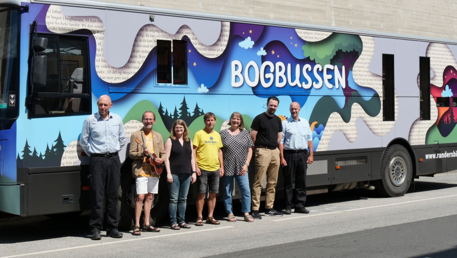 Bogbussen på Randers Bibliotek fylder 50 år