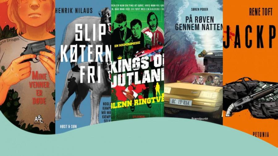 fede action bøger til unge