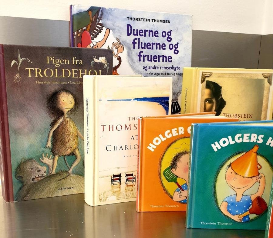 Bøger af Thorstein Thomsen